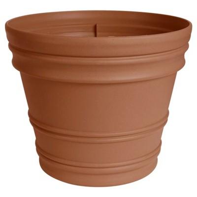 22  Rolled Rim Planter Terra Cotta Bloem®