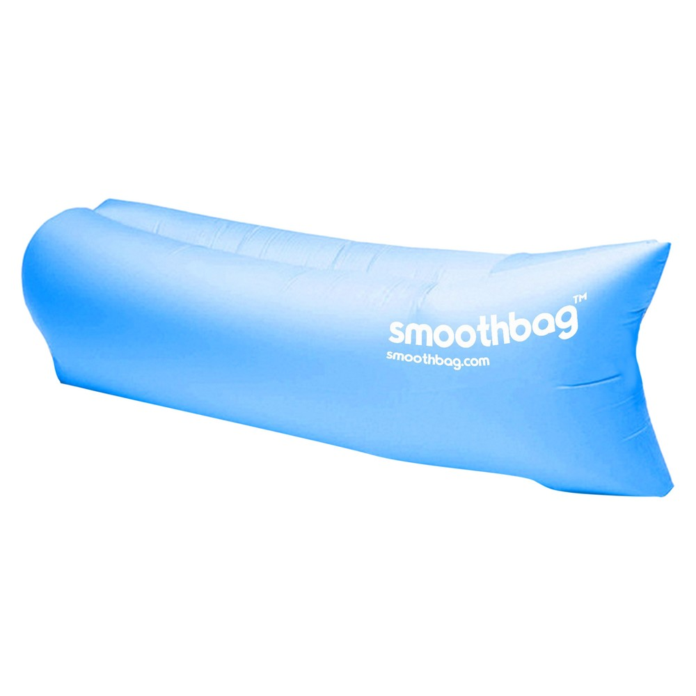SmoothBag Portable Inflatable Lounging Sofa - Blue
