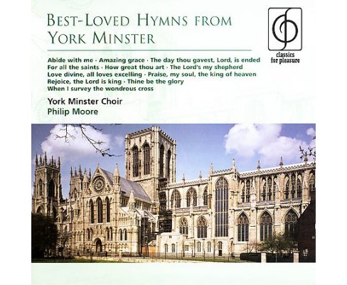 Phillip moore - Best loved hymns york minister (CD) - image 1 of 1