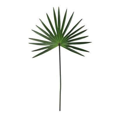 "Allstate Floral 28"" Palm Plant Artificial Foliage Fan Decoration - Green"