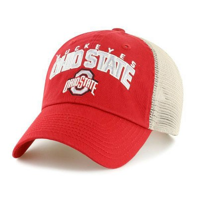 NCAA Ohio State Buckeyes Men's Hunch Relaxed Fit Hard Mesh Back Snapback Hat
