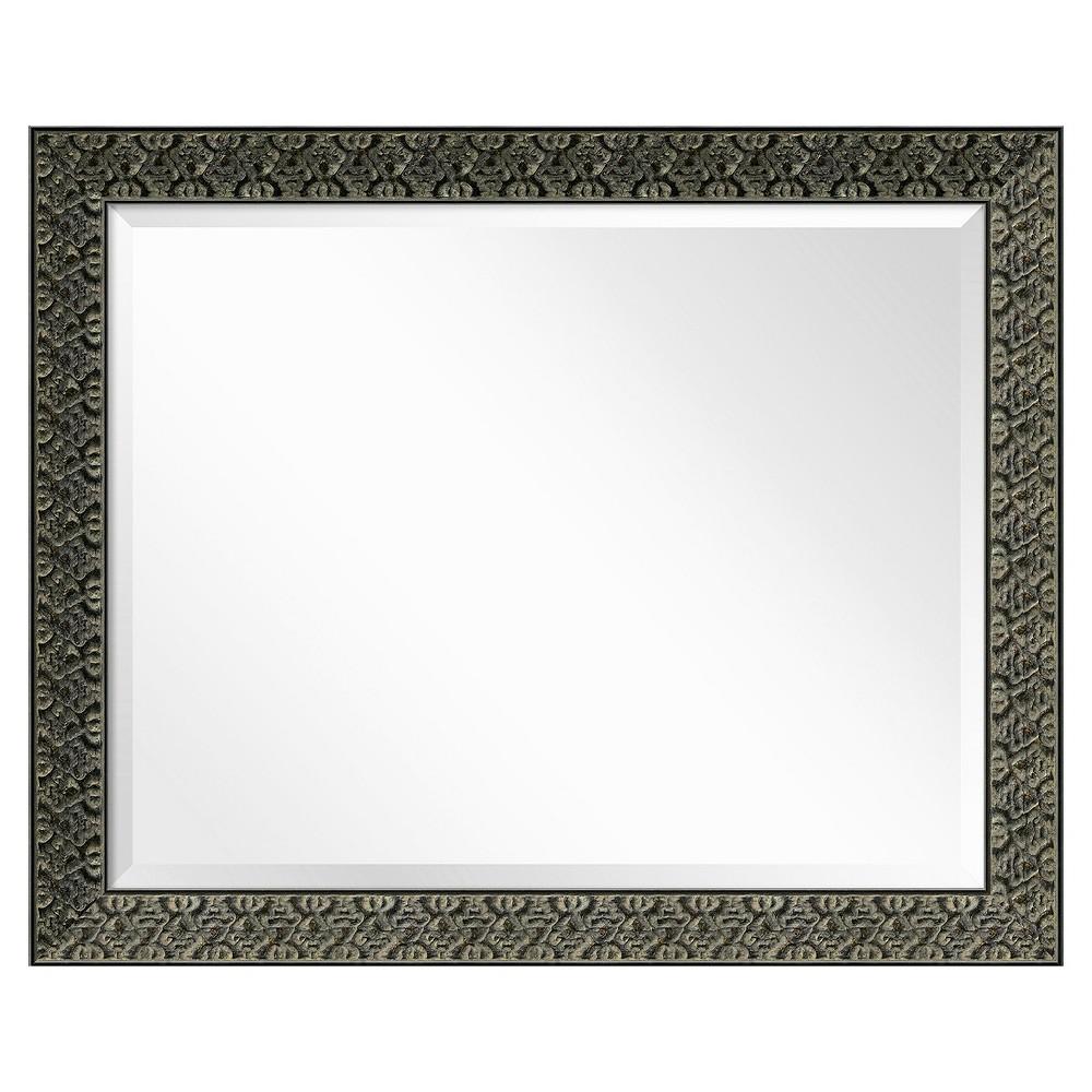 Image of Rectangle Intaglio Antique Decorative Wall Mirror - Amanti Art