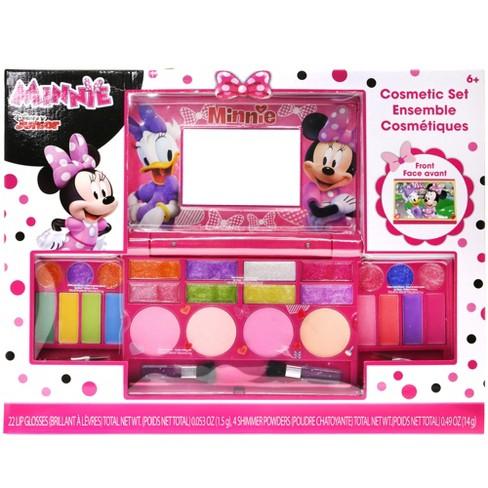 Disney Minnie Mouse Glitter Cosmetics Set With Mirror   Target cf485cd9c0