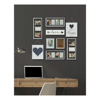 Heart Decor Frame 9pc Kit - Gallery Solutions
