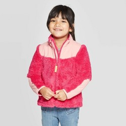 Toddler Girls' Fleece Jacket - Cat & Jack™