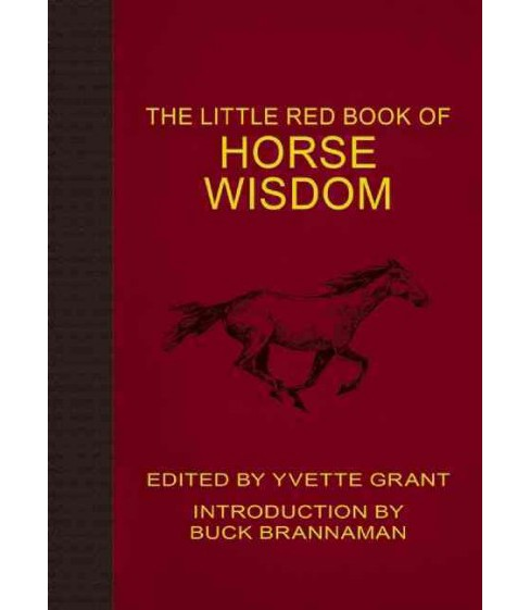 Little Red Book of Horse Wisdom (Reprint) (Paperback) - image 1 of 1