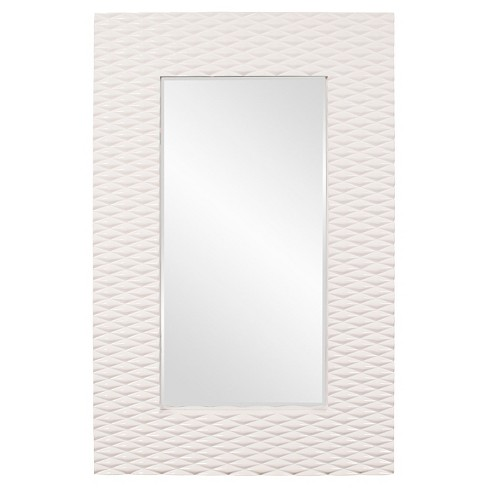 Rectangle Canfield Floor Mirror Cream - Howard Elliott - image 1 of 1