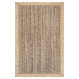 Sterling Gray Solid Loomed Area Rug - (3