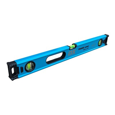 OX Tools USA T024209 Professional Heavy Duty Aluminum 24 Inches 60 Centimeters Box Level, Blue