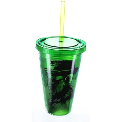 Just Funky Breaking Bad Danger Green 16oz Carnival Cup w/ Straw