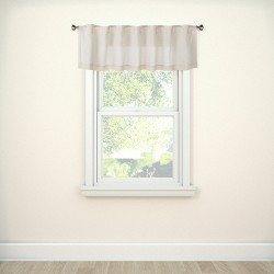 "15""x54"" Window Valance Beige - Threshold™"