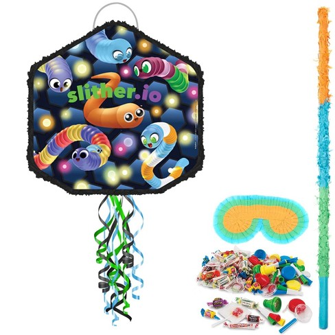 Slither.io Pull String Pinata Kit - image 1 of 1