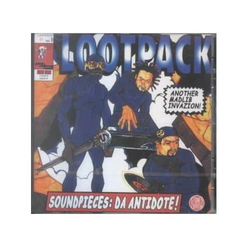 Lootpack - Soundpieces:Da Antidote (CD) - image 1 of 1
