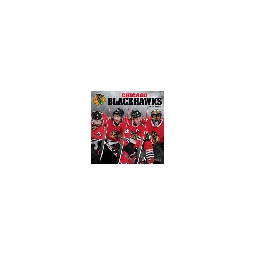 Chicago Blackhawks 2019 Calendar - (Paperback)