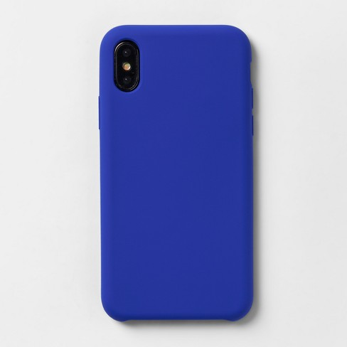 new concept 197d8 32a7c heyday™ Apple iPhone X/XS Silicone Case - Blue