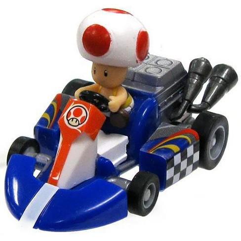 Super Mario Mario Kart Gacha Toad 1.5-Inch Pull Back Racer - image 1 of 1
