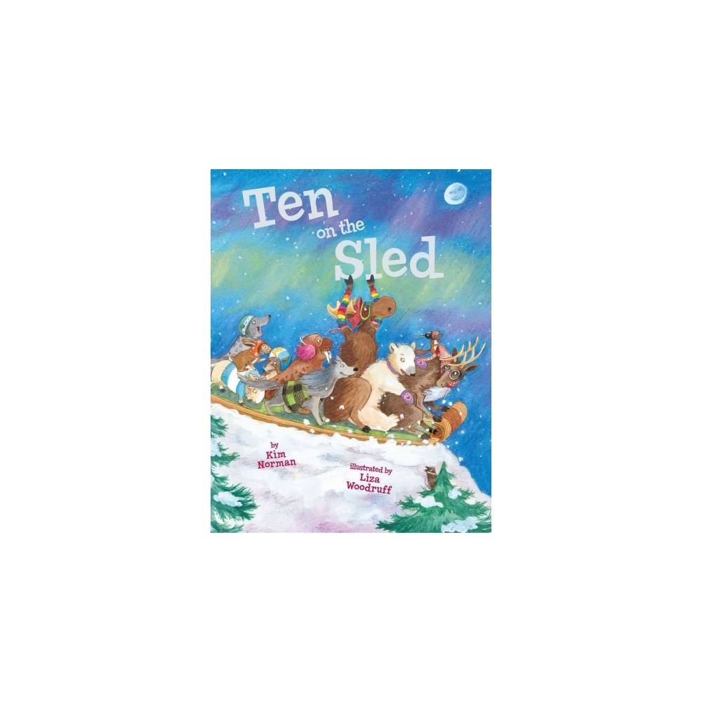 Ten on the Sled (Reprint) (Paperback)