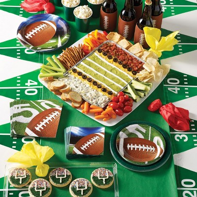 32ef3b1afbc5 8ct Football Party Paper Plates   Target