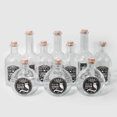 10ct Potion Jars - Bullseye's Playground™