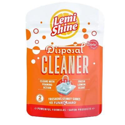 Lemi Shine Disposal Cleaner, Citric - 2ct