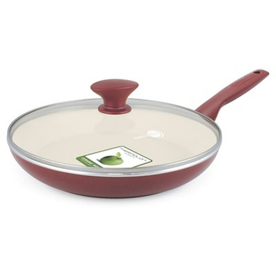 GreenPan Rio 11  Ceramic Nonstick Covered Frypan Red