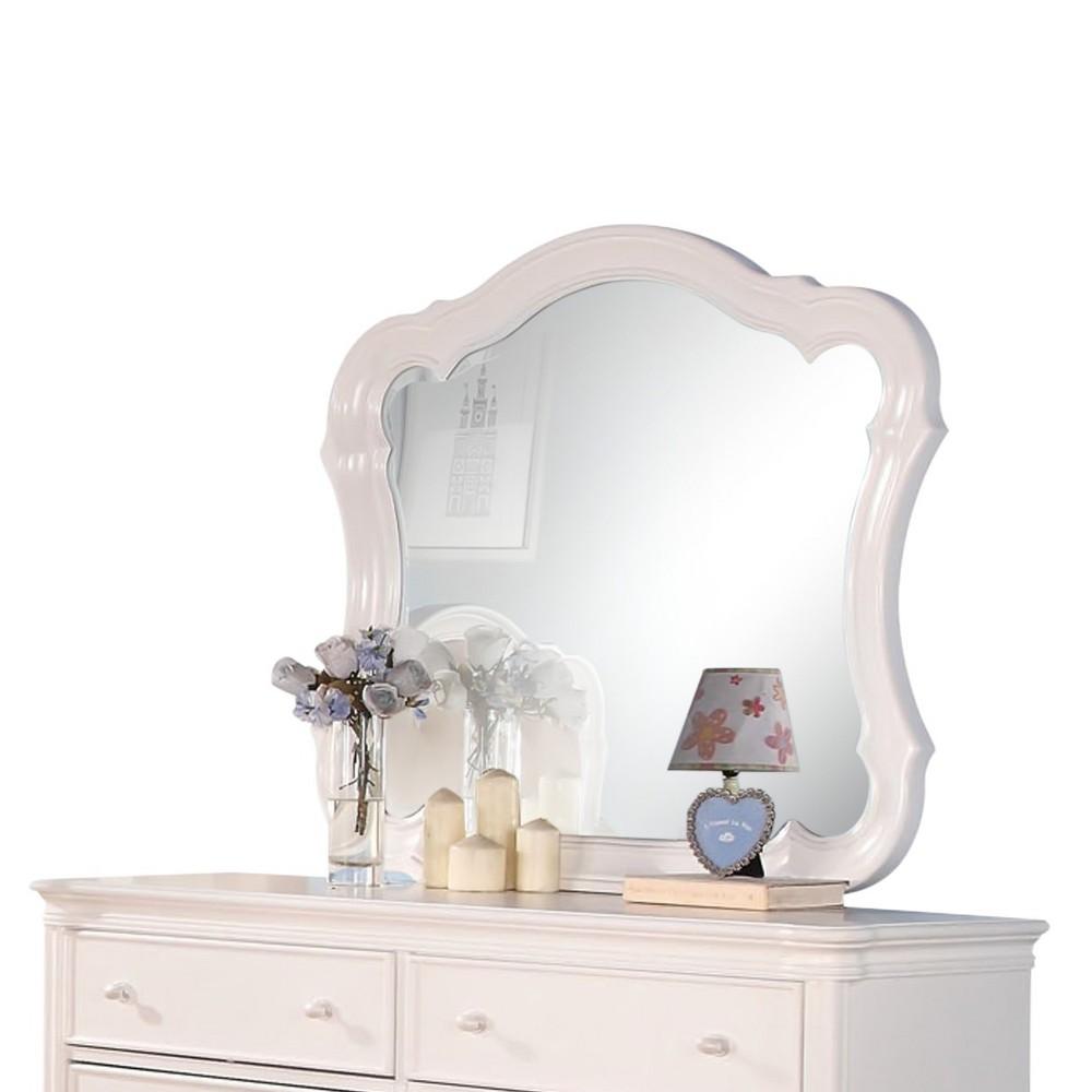 Ira Kids Dresser Mirror - White - Acme