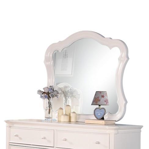 Ira Kids Dresser Mirror White Acme Target