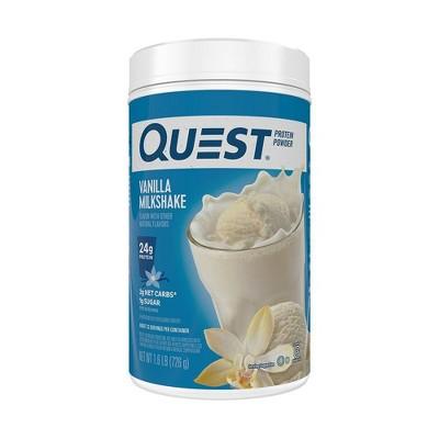 Quest Protein Powder - Vanilla Milkshake - 25.6oz
