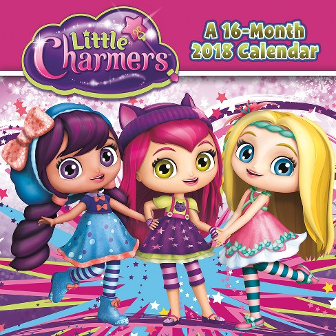 2018 Little Charmers Wall Calendar - Trends International - image 1 of 4
