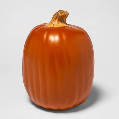 "13"" Carvable Pumpkin Halloween Decorative Prop - Hyde & EEK! Boutique™"