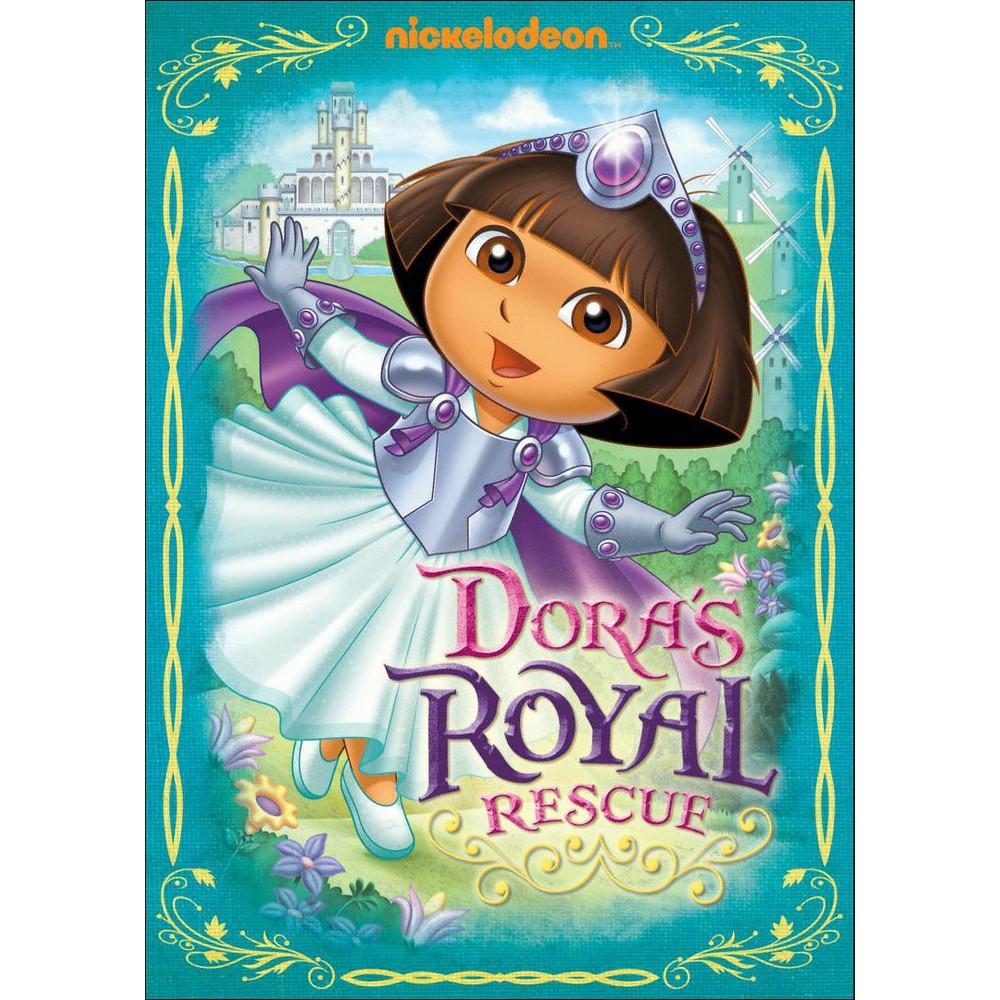 Dora The Explorer:Dora's Royal Rescue (Dvd)
