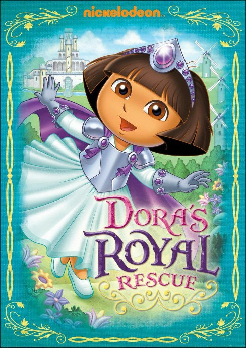 Dora The Explorer:Dora's Royal Rescue (DVD) - image 1 of 1