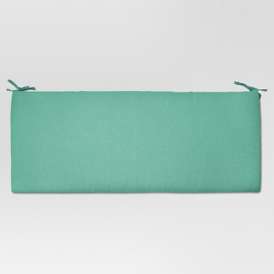 Outdoor Bench Cushion Turquoise - Threshold™