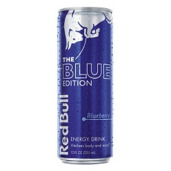 Red Bull Blue Edition Blueberry Energy Drink - 12 fl oz Can