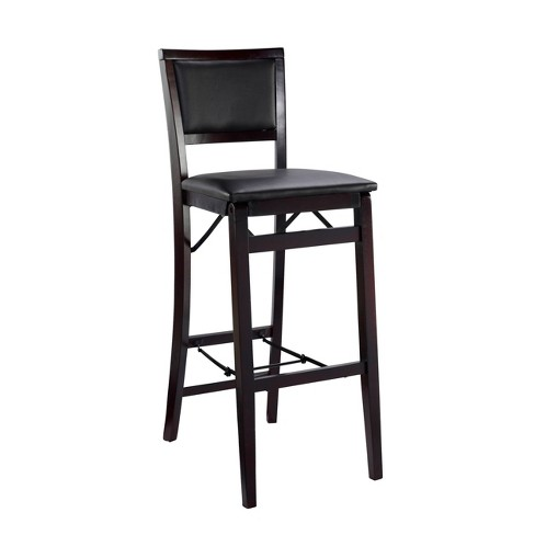 Awesome 30 Keira Padded Back Folding Bar Stool Uwap Interior Chair Design Uwaporg