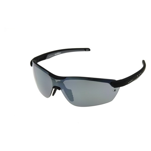 72fe8004ee Men s Ironman Polarized Wrap Sport Sunglasses - Black   Target