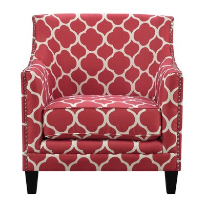 Deena Accent Chair Red - Picket House Furnishings