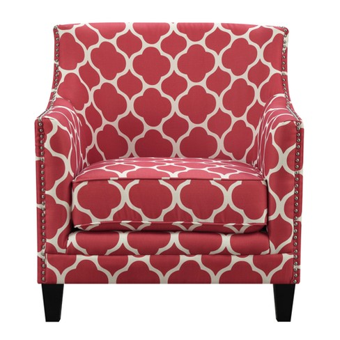 Deena Accent Chair Red - Picket House Furnishings - image 1 of 4