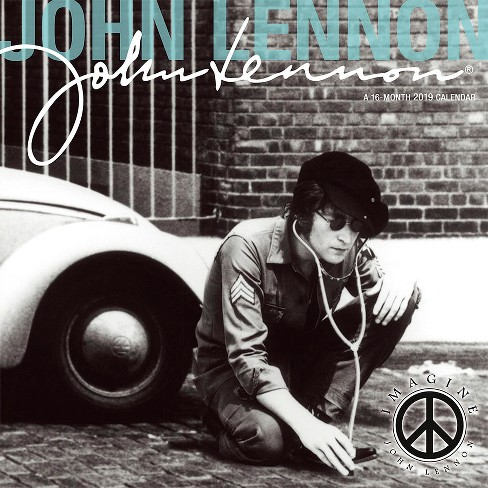 2019 Wall Calendar John Lennon - Trends International - image 1 of 4
