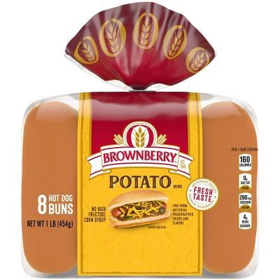 Brownberry Potato Hot Dog Buns - 1lbs