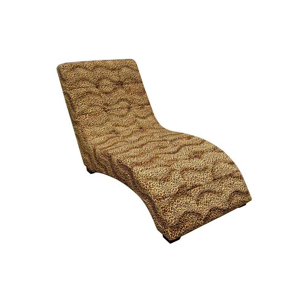 Modern Chaise Gold - Ore International