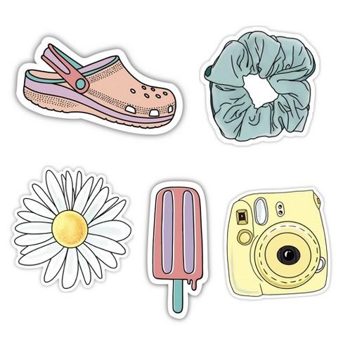 Big Moods Vsco Aesthetic Sticker Pack 5pc Target