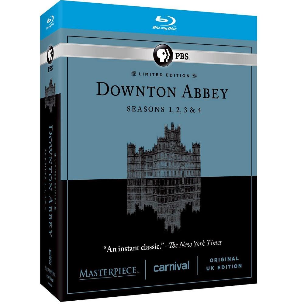 Masterpiece: Downton Abbey - Seasons 1-4 [Blu-ray]