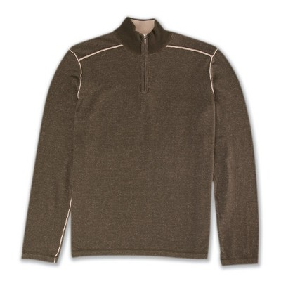 Ecoths  Men's  Noah Zip Neck Sweater