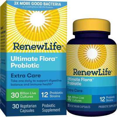 Probiotics: ReNew Life Ultimate Flora Extra Care