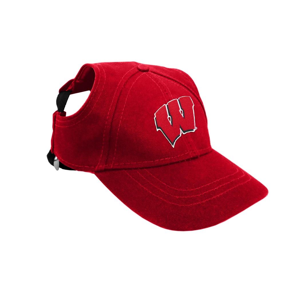Wisconsin Badgers Little Earth Pet Baseball Hat - S