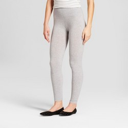 e2b94e4c87e460 ... Black L/XL · Women's Cotton Blend Seamless Waistband Leggings - A New  Day™ Gray ...