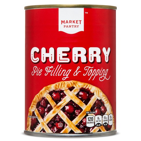 Cherry Pie Filling Or Topping - 21oz - Market Pantry™ - image 1 of 1
