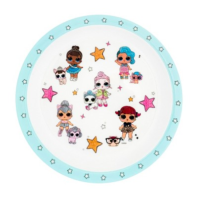 "L.O.L. Surprise! 8"" Melamine Shine Bright Dinner Plate"