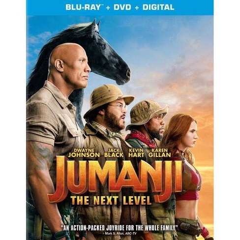 Jumanji: The Next Level (Blu-Ray + DVD + Digital) - image 1 of 1